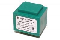 PCB TRANSFORMER 2,5VA 2x 15V
