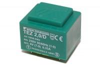PCB TRANSFORMER 2,0VA 1x 6V