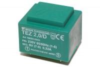 PCB TRANSFORMER 2,0VA 1x 9V