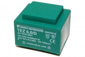 PCB TRANSFORMER 6,0VA 1x 12V