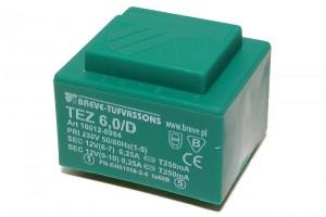 PCB TRANSFORMER 6,0VA 2x 12V
