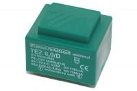 PCB TRANSFORMER 6,0VA 2x 6V