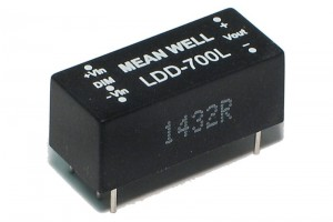 PWM DIMMABLE POWER LED CC-SOURCE 700mA 9-36V
