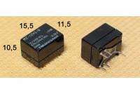 MINIATURE RELAY SPDT 1A 12VDC