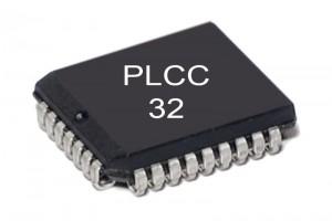 FLASH MEMORY IC 128Kx8 120ns PLCC