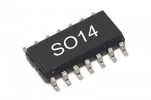 TTL-LOGIC IC NAND 7400 HC-FAMILY SO14