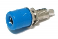 4mm BANANA SOCKET BLUE
