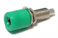 4mm BANANA SOCKET GREEN