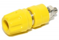 4mm CAPTIVE BINDING POST Hirschmann YELLOW