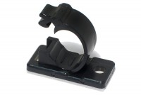 RELEASIBLE CABLE HOLDER Ø13mm BLACK
