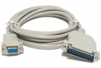 D9 NULL MODEM CABLE 3m