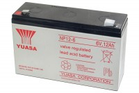 Yuasa 6V 12Ah SEALED LEAD ACID BATTERY