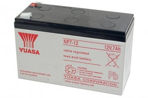 Yuasa 12V 7Ah SEALED LEAD ACID BATTERY