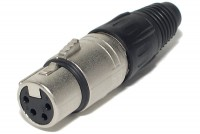 Neutrik XLR-FEMALE 4-PIN