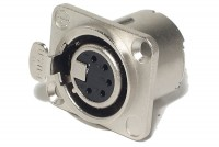 Neutrik XLR-FEMALE 5-PIN PANEL MOUNT SOCKET