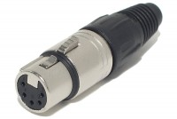 Neutrik XLR-FEMALE 5-PIN