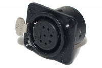 Neutrik XLR-FEMALE 7-PIN PANEL MOUNT SOCKET