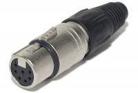 Neutrik XLR-FEMALE 7-PIN