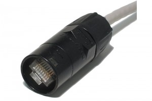 EtherCon RJ45 XLR-TYPE CABLE CONNECTOR CARRIER