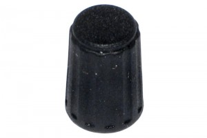NUPPI 4mm AKSELILLE ؘ10mm MUSTA