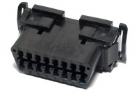 OBD2 (SAE J1962) PANEL CONNECTOR SNAP-IN