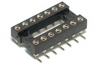 IC SOCKET 14-PINS SMD (DIP14, DIL14)