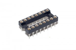 IC SOCKET 16-PINS (DIP16, DIL16)