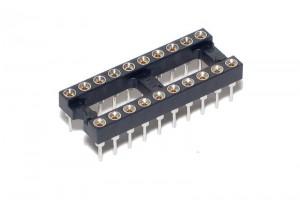 IC SOCKET 20-PINS (DIP20, DIL20)