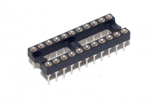 IC SOCKET 22-PINS (DIP22, DIL22)
