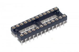 IC SOCKET 24-PINS (DIP24, DIL24)