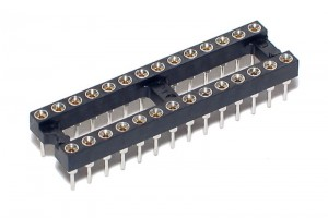 IC SOCKET 28-PINS (DIP28, DIL28)