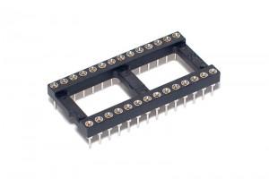 IC SOCKET 28-PINS 600mils (DIP28,DIL28)