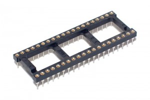 IC SOCKET 40-PINS 600mils (DIP40, DIL40)
