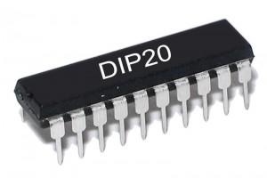 TTL-LOGIIKKAPIIRI BUS 74245 HC-PERHE DIP20