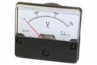 ANALOGUE PANEL METER VOLTAGE 0-300VAC