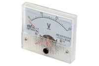 ANALOGUE PANEL METER VOLTAGE 0-30VDC