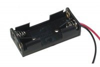BATTERY HOLDER 2x AAA IN PARALLEL WITH WIRES