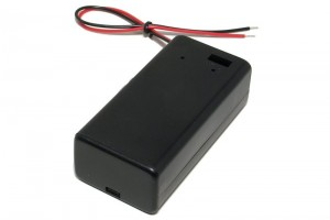BATTERY HOLDER 9V WITH ENCLOSURE