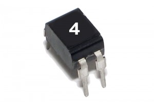 OPTOCOUPLER PC123 DIP4