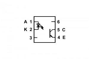 OPTOCOUPLER PC714 DIP6