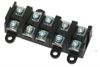 SCREW TERMINAL BLOCK 5-WAY 1,5-4mm2