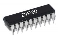 TTL-LOGIIKKAPIIRI LATCH 74373 HC-PERHE DIP20