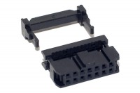 14P FLAT CABLE CONNECTOR FEMALE R2,54
