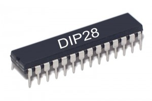 Microchip MICROCONTROLLER PIC16F876 4MHz DIP28