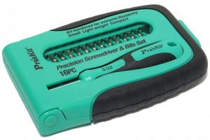 15 IN 1 PRECISION ELECTRONIC SCREWDRIVER SET