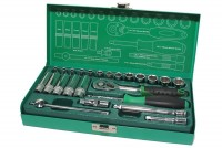 "24PCS 1/4"" DR. SOCKET TOOL SET"