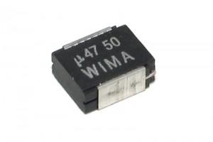 SMD PLASTIC FILM CAPACITOR 4030 470nF 50V
