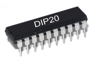 TTL-LOGIIKKAPIIRI LATCH 74533 HC-PERHE DIP20