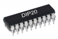 TTL-LOGIIKKAPIIRI LATCH 74573 HC-PERHE DIP20