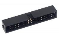 34P SHROUDED PIN HEADER 2x17 R2,54